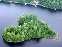 """Остров """"Блуберри"""" в Канаде"""