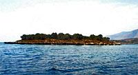 """Остров """"Святого Афанасия"""" (St. Athanasius) в Греции"""