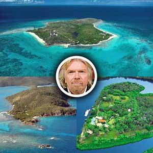 острова Ричарда Брэнсона